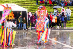 Inti Raymi, An Explosion Of Colors And Indigenous Traditions Royalty Free Stock Image