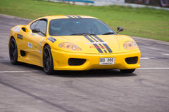 Unidentified driver in number 3 Ferrari F430 Royalty Free Stock Images