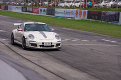 Unidentified driver Porsche 911 GT2 RS4.0 Royalty Free Stock Image