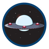 Unidentified flying object Stock Illustration