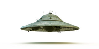 Unidentified flying object Royalty Free Stock Photos