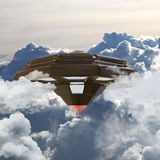 Unidentified flying object Stock Photography