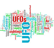Unidentified Flying Object - UFO Stock Photos