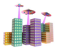 Unidentified flying object - UFO Royalty Free Stock Photography