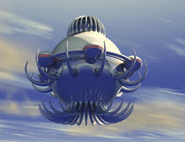 Unidentified flying object UFO Stock Images