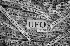 Unidentified flying object UFO Royalty Free Stock Image