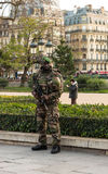 The unidentified french soldier, Paris, France. Stock Photography