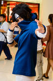 An unidentified Japanese anime cosplay. Royalty Free Stock Photos