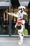 An unidentified Japanese anime cosplay at Central World in Thail Royalty Free Stock Photo