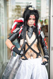 An unidentified Japanese anime cosplay at Central World in Thailand Stock Photography