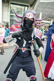 Unidentified Japanese anime cosplay pose in Japan Festa in Bangkok 2013 Royalty Free Stock Image