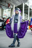 An unidentified Japanese anime cosplay pose in Japan Festa in Bangkok 2013 Stock Photos