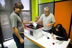 Catalan independence referendum Stock Photos