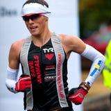 Unidentified marathon runner Stock Photos