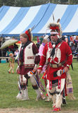 Unidentified men enjoying Anderson Town Pow wow royalty free stock photography