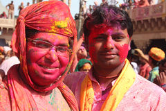 Holi Festival in India Royalty Free Stock Photography