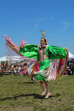 Unidentified Native American dancer at the NYC Pow Wow in Brooklyn Stock Images