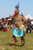 Unidentified Native American dancer at the NYC Pow Wow Stock Photography