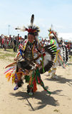 Unidentified Native American dancers at the NYC Pow Wow in Brooklyn Stock Photo