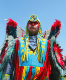 Unidentified Native American at the NYC Pow Wow in Brooklyn Stock Images