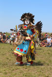 Unidentified Native American at the NYC Pow Wow Stock Photography