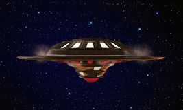 Unidentified object flying Royalty Free Stock Photography