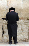 at the Wailing wall (Western wall) Stock Photography