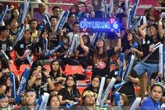 Unidentified Onuma Sittirak supporters Royalty Free Stock Photos