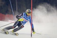 Unidentified participant of ski Stock Photo