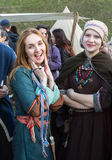 Unidentified participants of Rekawka - Polish tradition, celebrated in Krakow on Tuesday after Easter. Stock Image