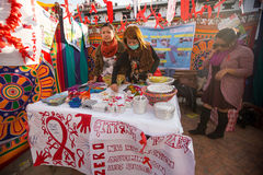 Unidentified participants at World AIDS Day on Durbar Square Stock Image