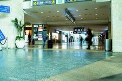 Unidentified passengers in Ben Gurion Airport Stock Image
