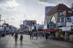 Atlantic City, USA Royalty Free Stock Images