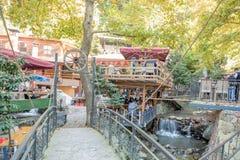Turkey,Kocaeli,Masukiye is a popular destination for eating and spending time Stock Photo