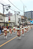 Unidentified people joint to the parade for kawagoe festival, Ja Stock Photo