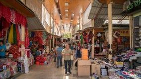 Unidentified people shopping in Adiyaman city historical old Oturakci bazaar inside the old city, Turkey Stock Photography