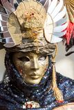 Traditional Venetian carnival mask Royalty Free Stock Photography