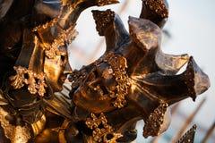 Den Venetian karnevalet maskerar, piazzaen San Marco, Venedig, Italien Arkivbilder
