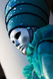 Venetian carnival mask, Piazza San Marco, Venice, Italy Stock Images
