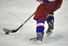 Unidentified player in action Royalty Free Stock Photography