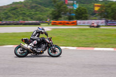 Unidentified racers KTM duke 200 Royalty Free Stock Images