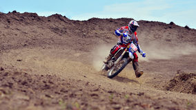 Unidentified rider Royalty Free Stock Images