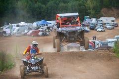 An unidentified riders  class ATV Stock Photos