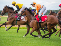 Unidentified riders, race on the famous race of Stock Image