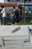Unidentified skater Stock Photography