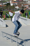 Unidentified skater Royalty Free Stock Photography