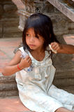 Unidentified street child Royalty Free Stock Photo