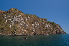 Unidentified tourists enjoying a daytrip kayaking Stock Photo