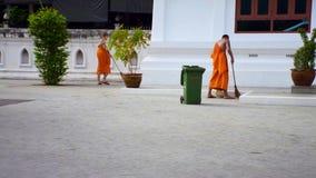 monk exterior stock video