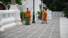 monks stock video